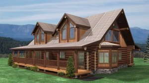 Hayward Log Home Plans