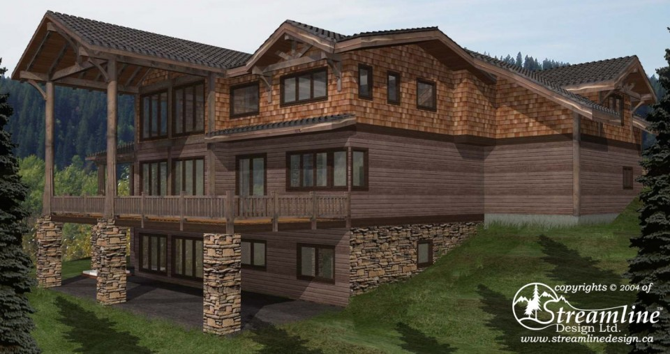 Monashee Custom Timber Frame Design