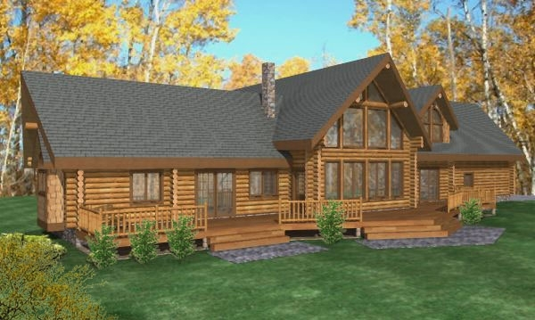 Remond Log Home Plans