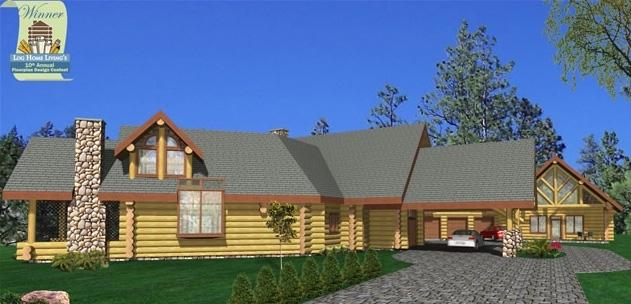 Roaring Spring Log Home Plans