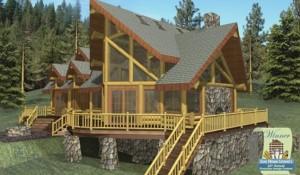 Ruby Lake Log Home Plans