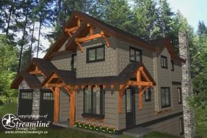 Straiton Timber Frame Design Plan