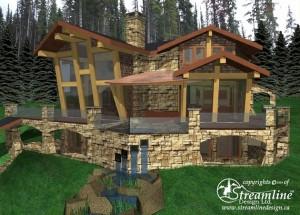 Sun Peaks Custom Timber Frame Design
