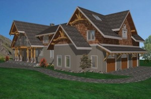 Sun Valley Timber Frame Home