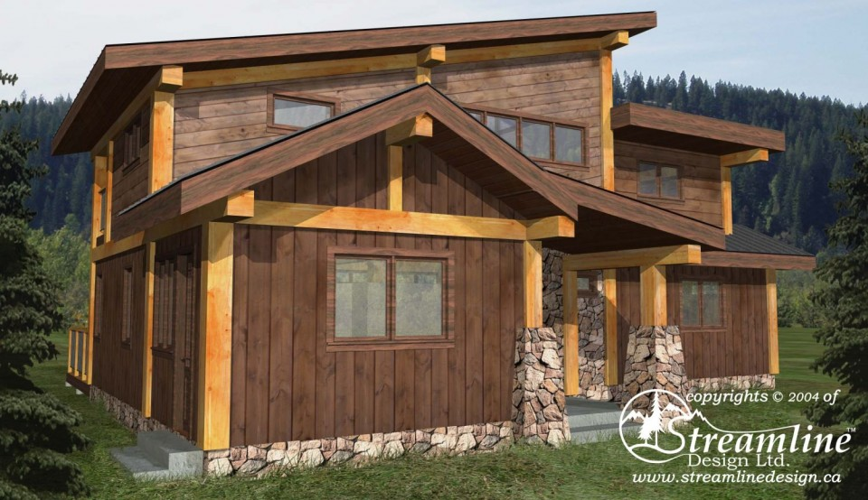 Taylor Bay Timber Frame Plan