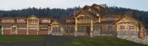 The Alpine Log Home Plans
