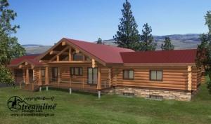 Thorsby Log Home Plans