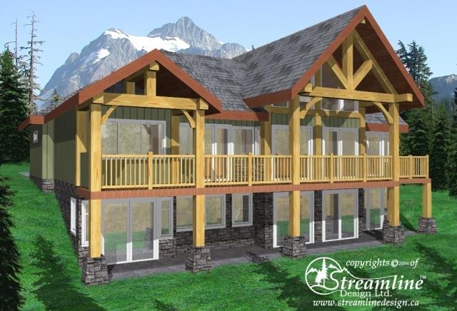 Wakefield Beach Timber Frame Construction Plan