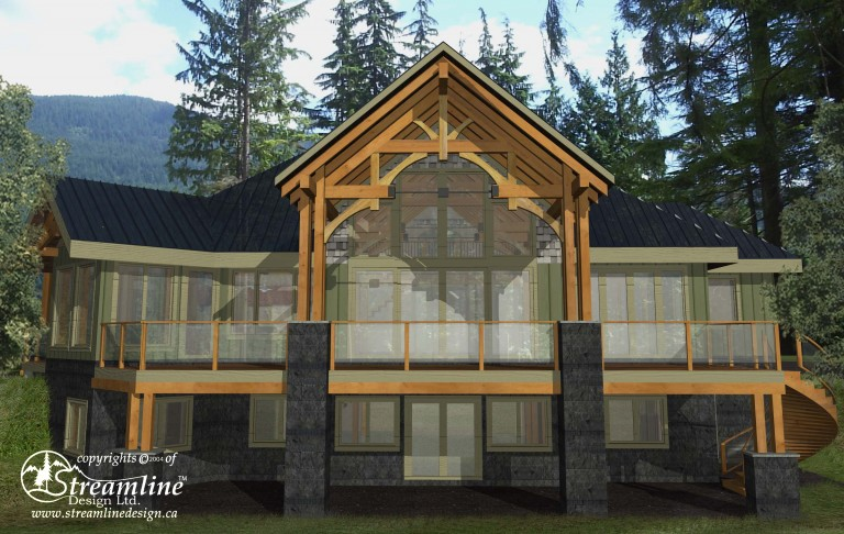 Westsyde Timber Frame Plan