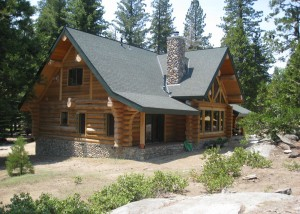 Kendall Log Home