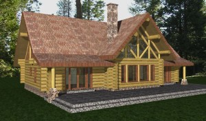 Kendall Log Home Plans
