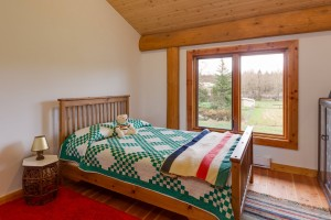 Campbell Valley Post and Beam Log Home 10 - Streamline Design