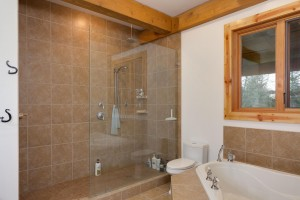 Campbell Valley Post and Beam Log Home 9 - Streamline Design