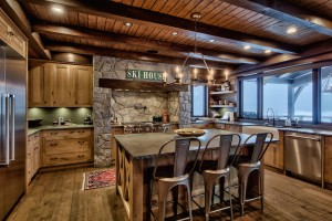 kitchen-in-timber-frame-house