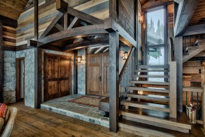 front-entrance-in-timber-frame-home