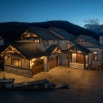 Lottinville Timber Frame Log Home 1 - Streamline Design