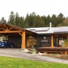 McNeil Timber Frame Log Home 10 | Streamline Design