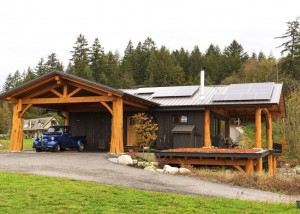 McNeil Timber Frame Log Home 10 | Streamline Design
