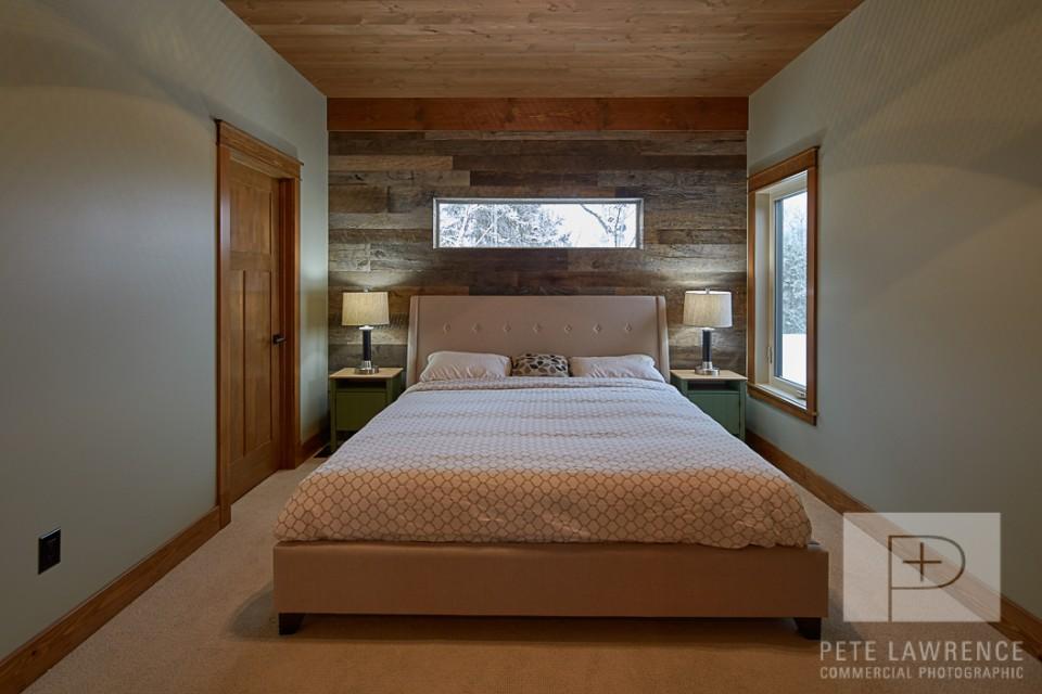 Emma Lake Timber Frame Log Home | Streamline Design