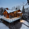 Emma Lake Timber Frame Log Home 8 | Streamline Design