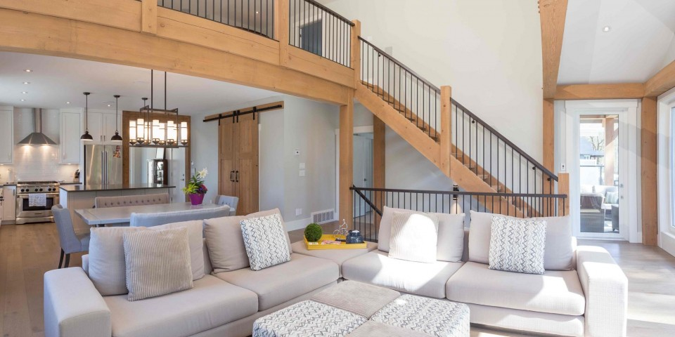 Straiton Timber Frame Design Living Room | Streamline Design Ltd