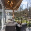 Straiton Timber Frame Home Deck | Streamline Design Ltd