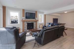 Straiton Timber Frame Home Family Room | Streamline Design Ltd