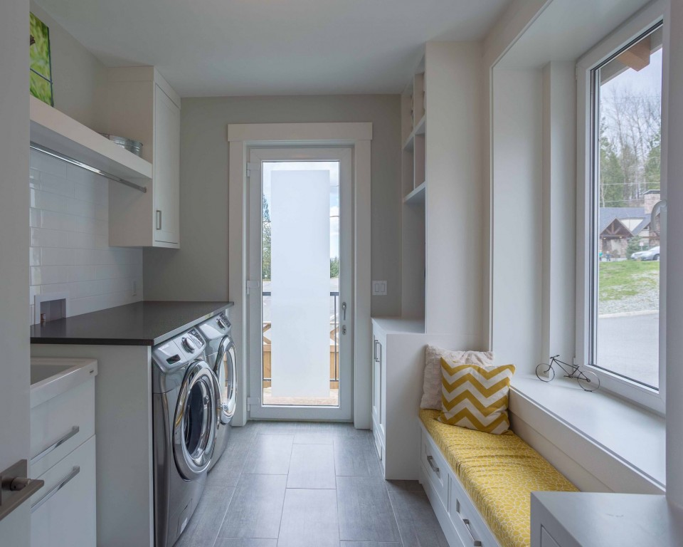 Straiton Timber Frame Home Laundry Room | Streamline Design Ltd
