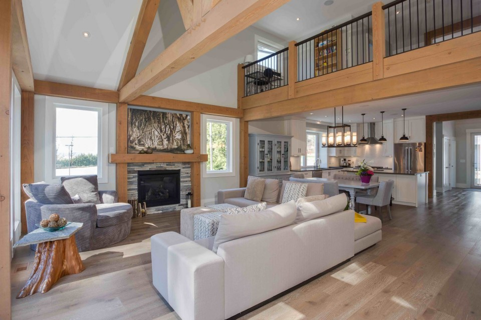 Straiton Timber Frame Home Living Room | Streamline Design Ltd