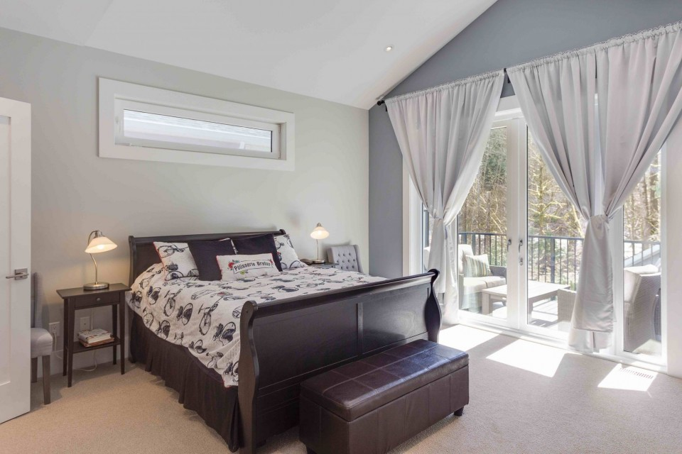 Straiton Timber Frame Home Master Bedroom | Streamline Design Ltd