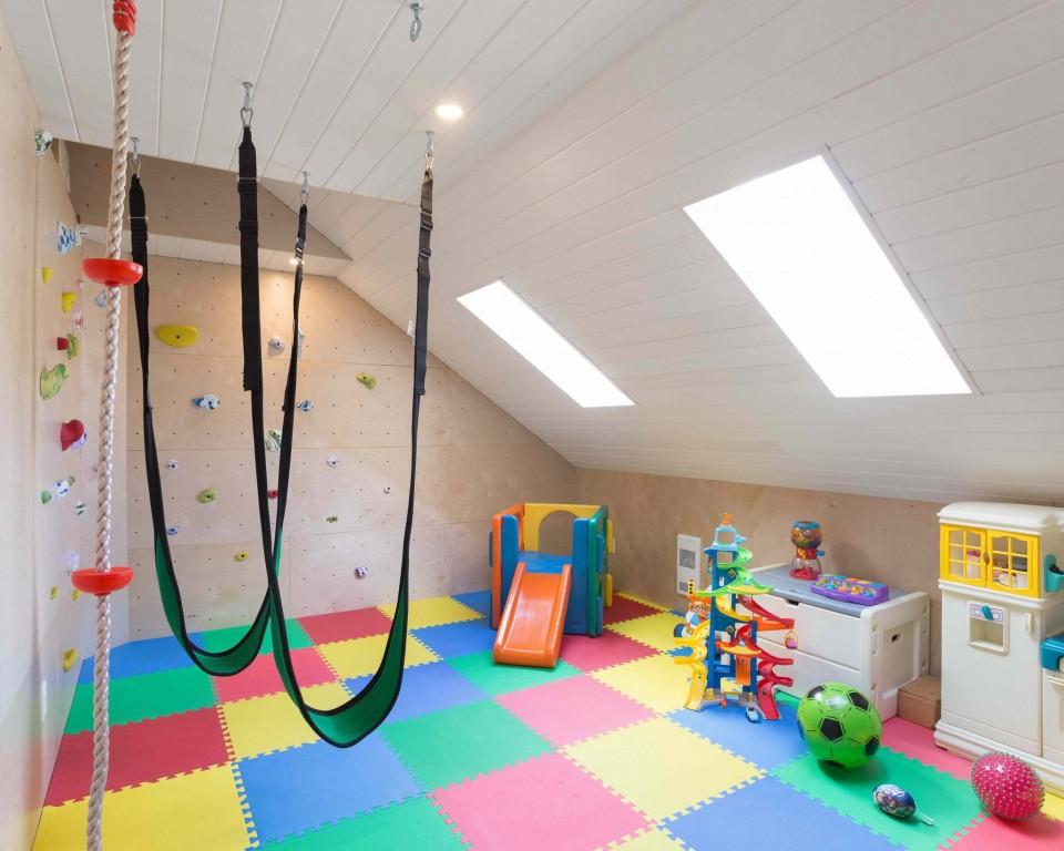 Straiton Timber Frame Home Playroom | Streamline Design Ltd