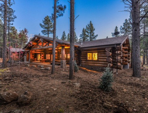 Foxbord Log Home Rancher