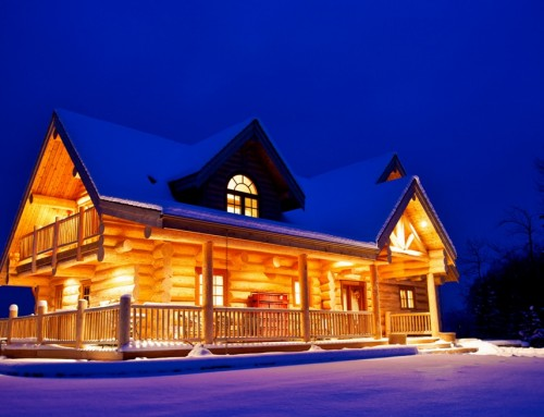 Modified Roosevelt Log Home Design