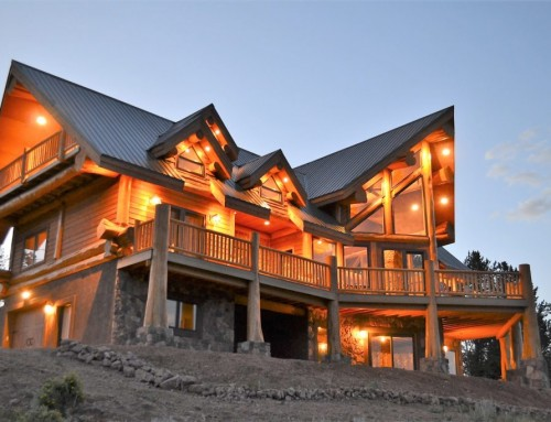 Modified Ruby Lake Log Home Design