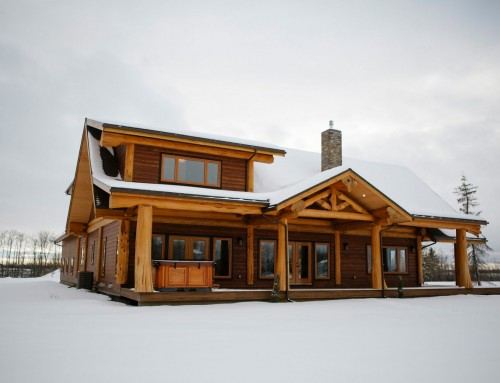 The Alberta Ranch Post & Beam Design